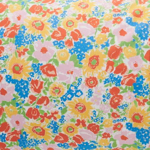 Spring Pollen Cotton Fitted Sheet