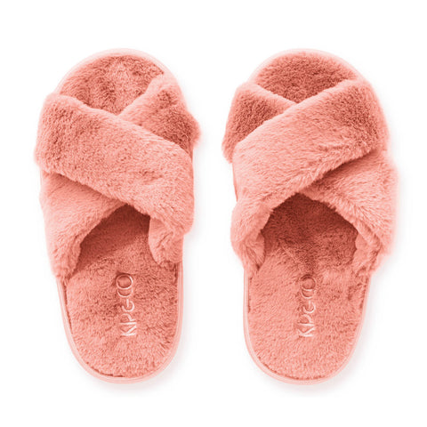 Blush Pink Kids Slippers