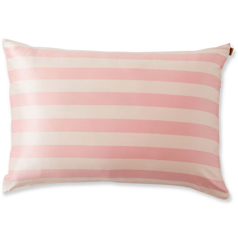 Stripes In Pink Silk 1P Pillowcase