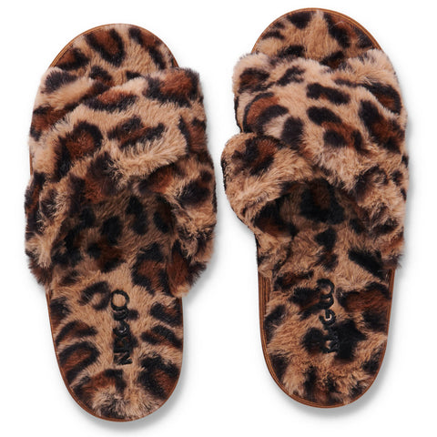 Cheetah Adult Slippers