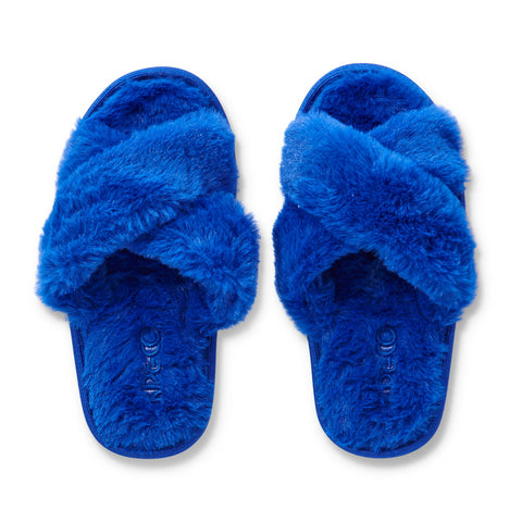 Dazzling Blue Kids Slippers