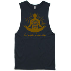 LW (Men's) - Positive Vibes Only Muscle Tee