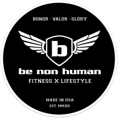 AC - Be Non Human Stickers (4x4)