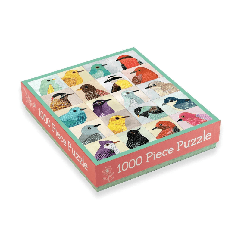 Avian Friends Family Puzzle - 1000 pc Puzzle The Wonder Cabinet