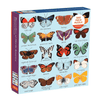 Butterflies of the North Family Puzzle - 500 pc Puzzle The Wonder Cabinet