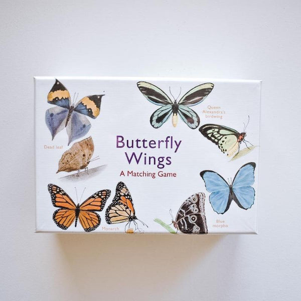 Butterfly Wings: A Matching Game Game The Wonder Cabinet