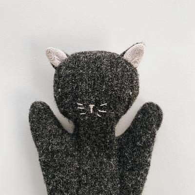 Cat Puppet Soft Toys Ouistitine