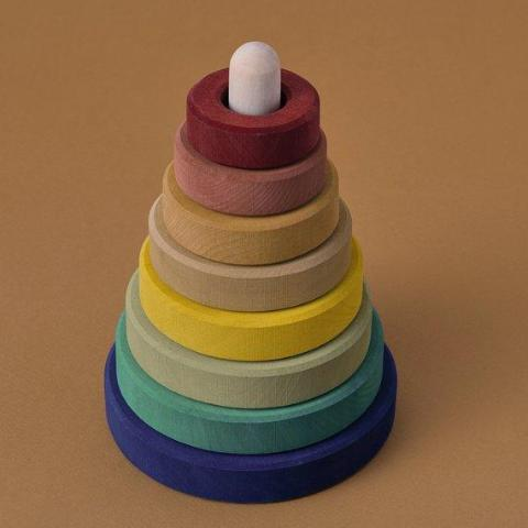 Earth Stacking Tower Wooden Toys Raduga Grez