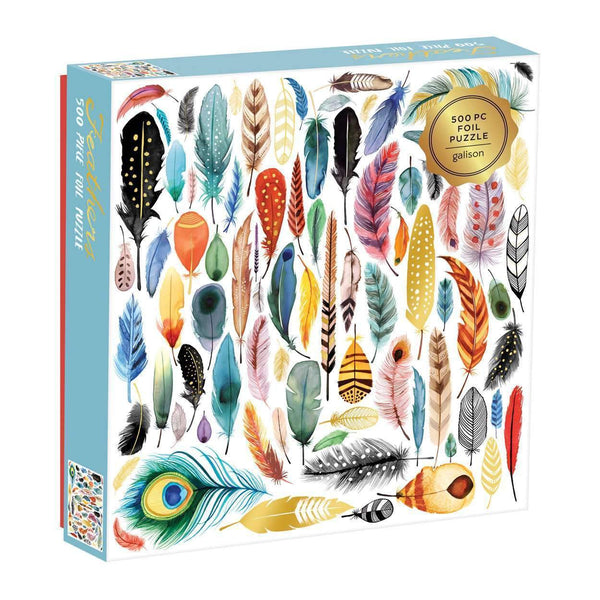 Feathers Family Puzzle - 500 pc Puzzles The Wonder Cabinet