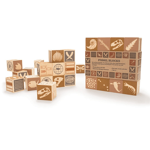 Fossils Blocks Learning Toys Uncle Goose
