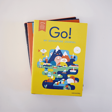 Go! Travel Journal Books Penguin Random House
