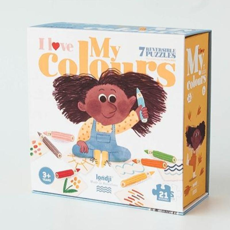 I Love My Colours Puzzle - 21 pc Puzzle The Wonder Cabinet