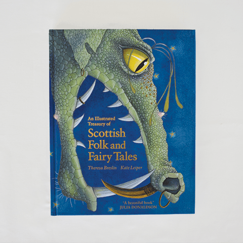 Illustrated Treasury of Scottish Folk and Fairy Tales Books The Wonder Cabinet