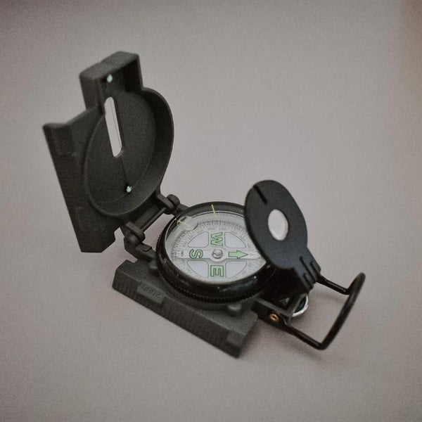 Lensatic Compass Outdoor Toys Kikkerland