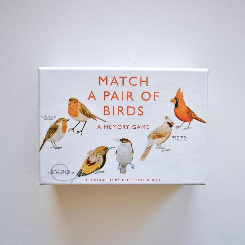 Match a Pair of Birds Game The Wonder Cabinet