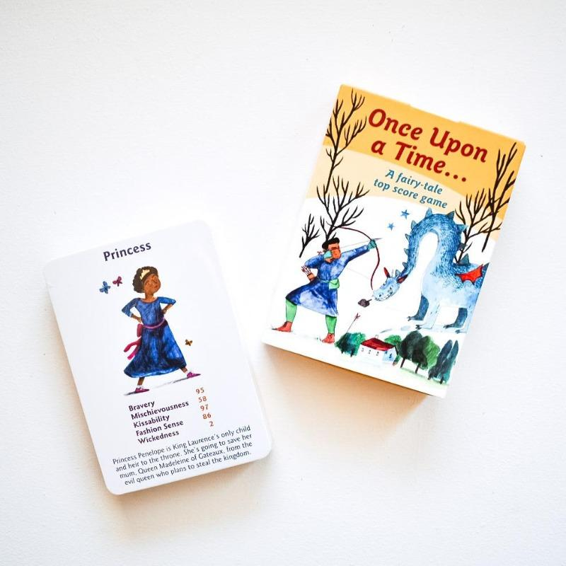 Once Upon a Time: A Fairy Tale Card Game Game The Wonder Cabinet