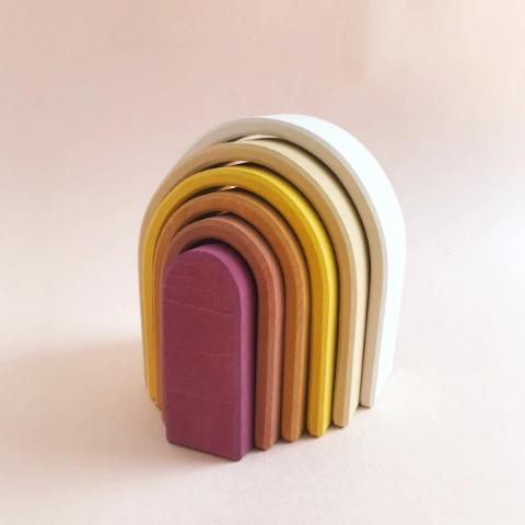 Oval Rainbow Stacker The Wonder Cabinet