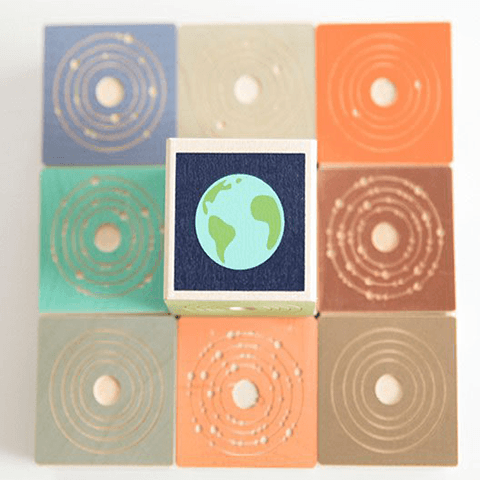 Planets Blocks Learning Toys Uncle Goose