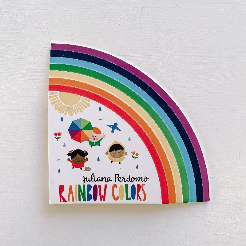 Rainbow Colors Books The Wonder Cabinet