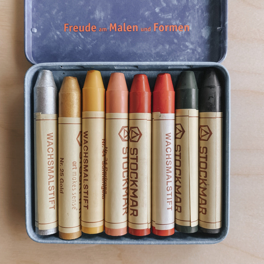 Stockmar Wax Crayons - Supplementary Colours Art Supplies Mercurius