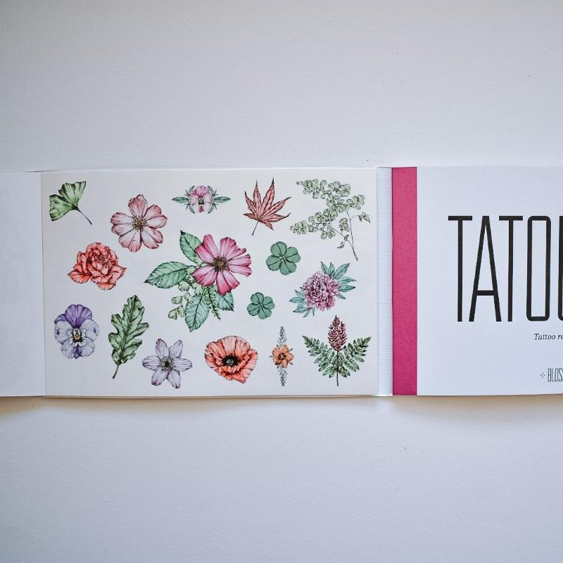 Tatouage: Blossom Tattoo and Nature Booklet Books The Wonder Cabinet
