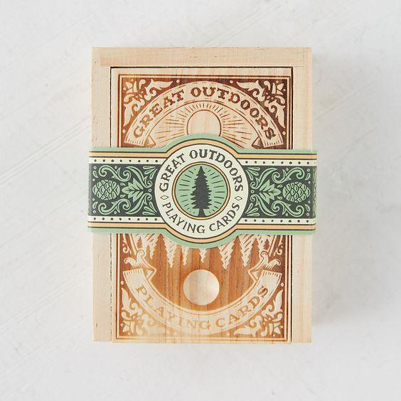 The Great Outdoors Playing Cards The Wonder Cabinet