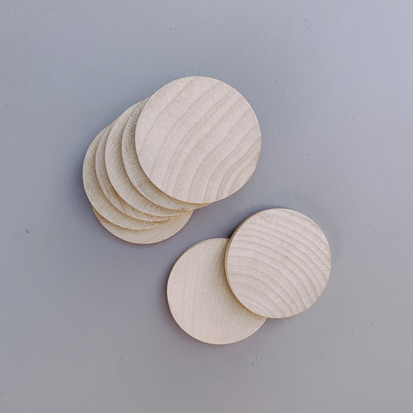 Wooden Rounds The Wonder Cabinet