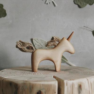 Wooden Unicorn Wooden Toys Tateplota