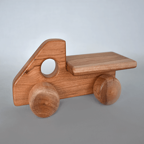 Wooden Vehicles Camden Rose Flat-bed Truck