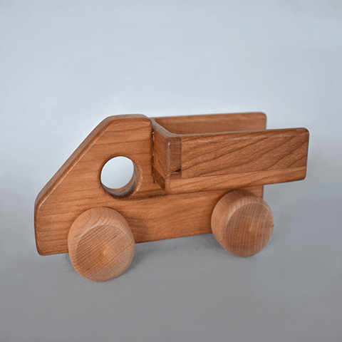 Wooden Vehicles Camden Rose Pick-up Truck