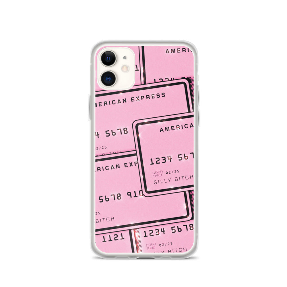 Pink Creditcard iPhone Case