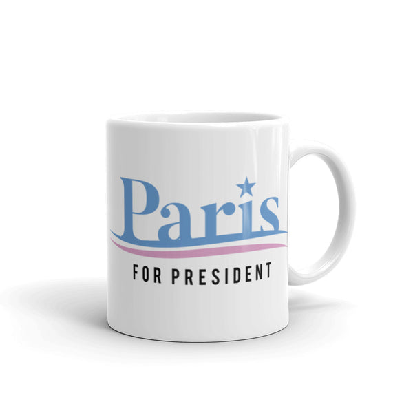 Paris For President Mug