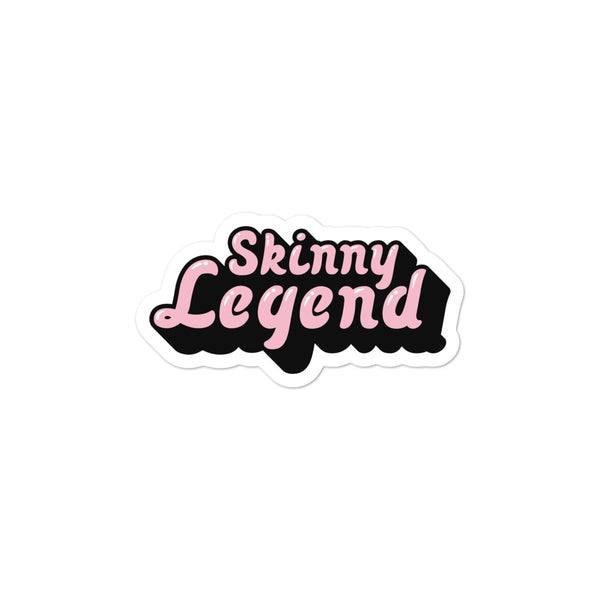 Skinny Legend sticker