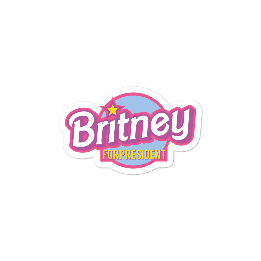 Britney For President Stickers