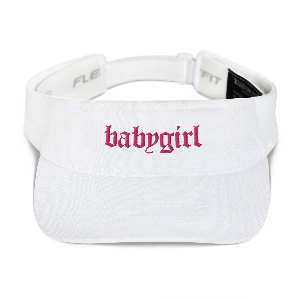 Babygirl Embroidered Visor