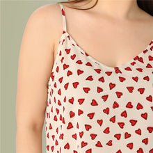 Load image into Gallery viewer, Confetti Heart Print Camisole