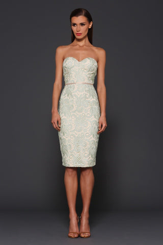 Elle Zeitoune Morgan lace dress - Kourvosieur