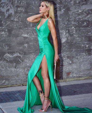 Nelly gown (emerald)