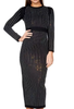 Logan jewel studded midi dress - Kourvosieur