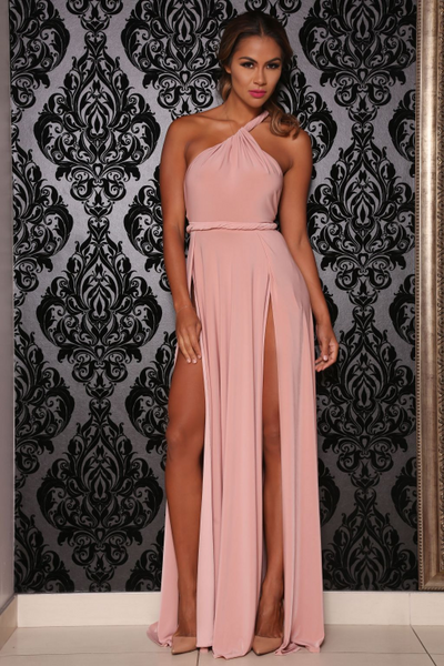 Vamp dress (blush) - Kourvosieur