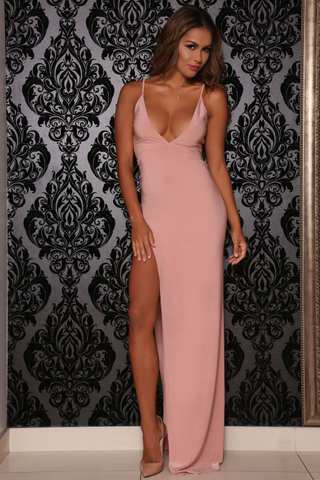 Ambrosia dress (blush) - Kourvosieur