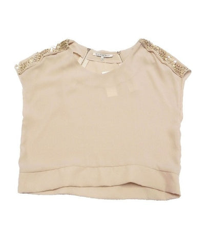 Riki embellished crop top - Kourvosieur