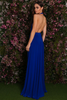 Mario cutout dress (blue) - Kourvosieur
