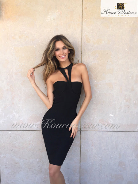Posh bandage dress - Kourvosieur