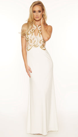 Rianne beaded gown (2 Colors) - Kourvosieur  - 1