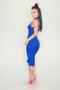 Pasha bandage dress (blue) - Kourvosieur  - 2