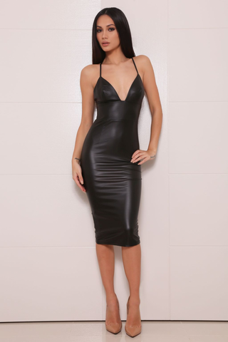 Seven dress (Black) - Kourvosieur