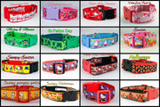 Holiday dog collars