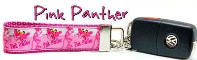 Pink Panther Key Fob Wristlet Keychain 1