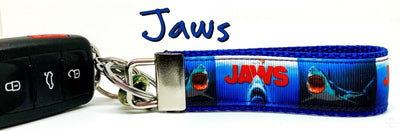 Jaws movie Key Fob Wristlet Keychain 1